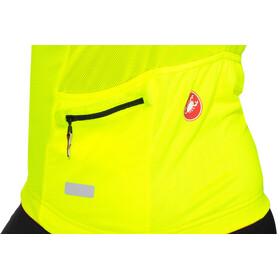 Castelli Aero Race 4.1 Solid FZ Jersey Herren yellow fluo